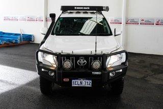 2013 Toyota Landcruiser Prado KDJ150R MY14 GXL (4x4) Glacier White 6 Speed Manual Wagon.