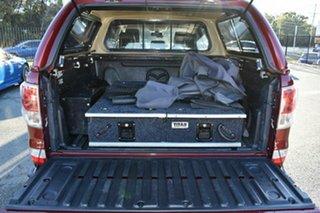 2014 Mazda BT-50 MY13 GT (4x4) Maroon 6 Speed Automatic Dual Cab Utility
