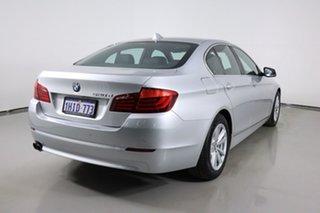 2011 BMW 520d F10 MY11 Silver 8 Speed Automatic Sedan