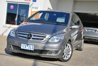 2006 Mercedes-Benz B200 245 Turbo Grey Continuous Variable Hatchback.