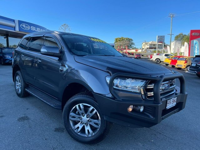 Used Ford Everest UA Trend Gympie, 2016 Ford Everest UA Trend Grey 6 Speed Sports Automatic SUV