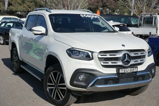 2018 Mercedes-Benz X-Class 470 X250d 4MATIC Power White 7 Speed Sports Automatic Utility.