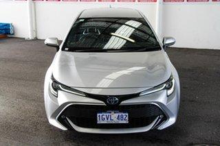 2019 Toyota Corolla ZWE211R ZR E-CVT Hybrid Silver Pearl 10 Speed Constant Variable Hatchback Hybrid.