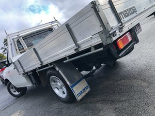 2007 Mazda BT-50 UNY0W3 DX 4x2 White 5 Speed Manual Cab Chassis