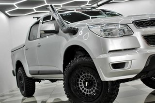 2016 Holden Colorado RG MY16 LS (4x4) Silver 6 Speed Manual Crew Cab Pickup.