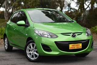 2011 Mazda 2 DE10Y1 MY10 Neo Green 4 Speed Automatic Hatchback.