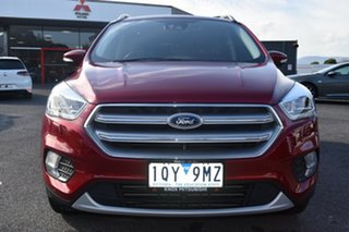 2018 Ford Escape ZG 2018.00MY Titanium Red 6 Speed Sports Automatic SUV