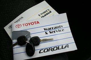 2006 Toyota Corolla ZZE122R Ascent Silver 4 Speed Automatic Sedan