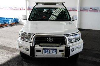 2011 Toyota Landcruiser VDJ200R Altitude SE Crystal Pearl 6 Speed Automatic Wagon.