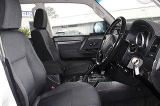 2009 Mitsubishi Pajero NT MY09 GLS White Solid 5 Speed Sports Automatic Wagon