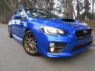2016 Subaru WRX V1 MY17 Premium Lineartronic AWD Blue 8 Speed Constant Variable Sedan.
