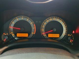 2011 Toyota Corolla ZRE152R MY11 Ascent Sport Silver 6 Speed Manual Sedan