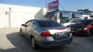 2007 Honda Accord 7th Gen MY07 VTi Silver 5 Speed Automatic Sedan.