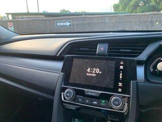 2017 Honda Civic 10th Gen MY17 VTi-S Black 1 Speed Constant Variable Sedan