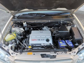 2006 Toyota Kluger MCU28R MY06 CVX AWD Gold 5 Speed Automatic Wagon