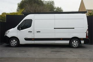 2014 Renault Master X62 Mid Roof LWB AMT White 6 Speed Sports Automatic Single Clutch Van