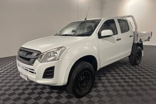 2016 Isuzu D-MAX MY15 SX Crew Cab 4x2 High Ride White 5 speed Automatic Cab Chassis.