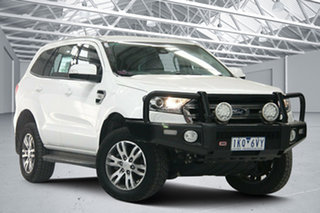2017 Ford Everest UA MY17 Trend White 6 Speed Automatic Wagon.