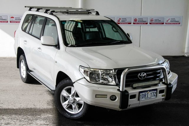 Pre-Owned Toyota Landcruiser VDJ200R Altitude SE Myaree, 2011 Toyota Landcruiser VDJ200R Altitude SE Crystal Pearl 6 Speed Automatic Wagon