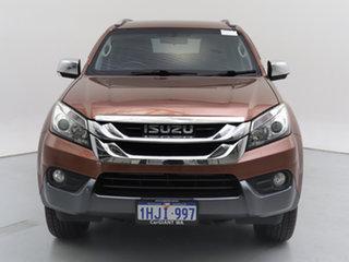 2016 Isuzu MU-X UC MY15.5 LS-T (4x4) Grey 5 Speed Automatic Wagon.