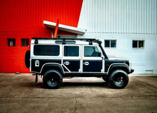 2013 Land Rover Defender 110 13MY White 6 Speed Manual Wagon.