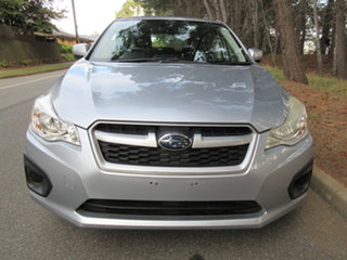 2012 Subaru Impreza G4 MY12 2.0i Lineartronic AWD Ice Silver 6 Speed Constant Variable Hatchback