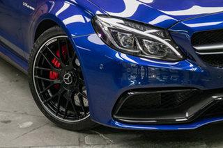 2018 Mercedes-Benz C-Class C205 808MY C63 AMG SPEEDSHIFT MCT S Brilliant Blue 7 Speed.