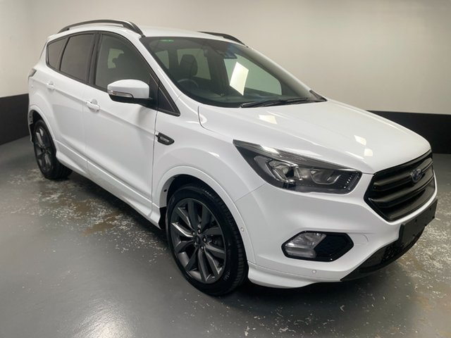 Used Ford Escape ZG 2019.25MY ST-Line Rutherford, 2019 Ford Escape ZG 2019.25MY ST-Line White 6 Speed Sports Automatic SUV