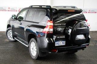 2016 Toyota Landcruiser Prado GDJ150R MY16 Kakadu (4x4) Eclipse Black 6 Speed Automatic Wagon.