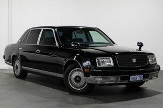 1997 Toyota Century GZG50 Black 4 Speed Automatic Sedan.