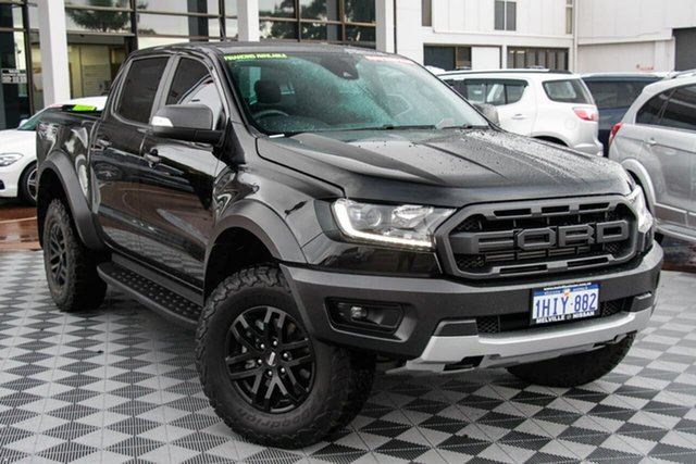 Used Ford Ranger PX MkIII 2019.00MY Raptor Attadale, 2019 Ford Ranger PX MkIII 2019.00MY Raptor Black 10 Speed Sports Automatic Double Cab Pick Up