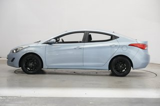 2012 Hyundai Elantra MD Active Light Blue 6 Speed Manual Sedan.