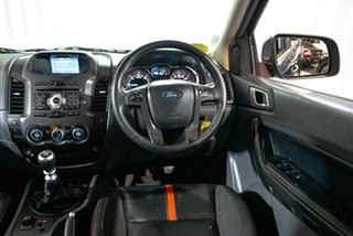 2014 Ford Ranger PX Wildtrak Double Cab Grey 6 Speed Manual Utility