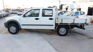 2006 Holden Rodeo RA MY06 LX Crew Cab 4x2 White 4 Speed Automatic Utility