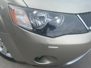 2007 Mitsubishi Outlander ZG MY08 VR-X Luxury Gold 6 Speed Sports Automatic Wagon
