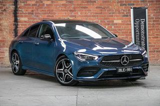 2020 Mercedes-Benz CLA-Class C118 801+051MY CLA200 DCT Denim Blue 7 Speed.