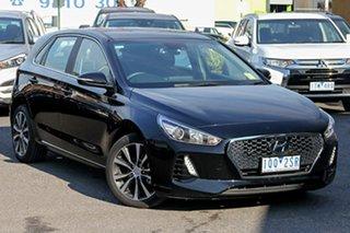 2019 Hyundai i30 PD2 MY19 Elite Black 6 Speed Sports Automatic Hatchback.