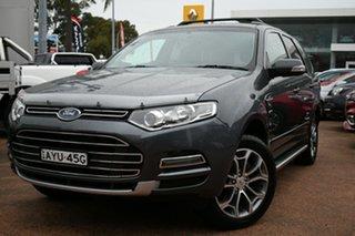 2014 Ford Territory SZ Titanium (4x4) Grey 6 Speed Automatic Wagon.