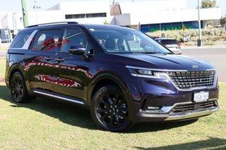 2021 Kia Carnival KA4 MY21 Platinum Deep Chroma Blue 8 Speed Automatic Wagon.