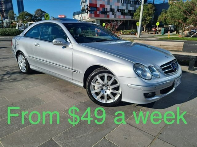 Used Mercedes-Benz CLK-Class C209 MY08 CLK280 Avantgarde South Melbourne, 2008 Mercedes-Benz CLK-Class C209 MY08 CLK280 Avantgarde Silver 7 Speed Automatic Coupe