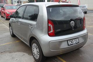 2012 Volkswagen UP! Type AA MY13 Silver 5 Speed Manual Hatchback