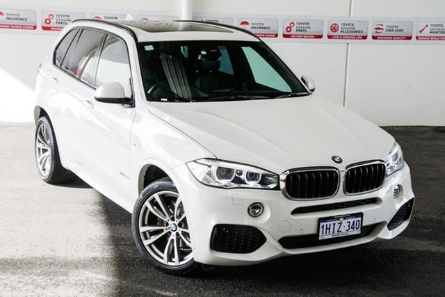 Pre-Owned BMW X5 F15 MY15 sDrive 25D Myaree, 2015 BMW X5 F15 MY15 sDrive 25D White 8 Speed Automatic Wagon