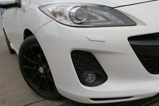 2012 Mazda 3 BL Series 2 MY13 SP25 White 5 Speed Automatic Hatchback.