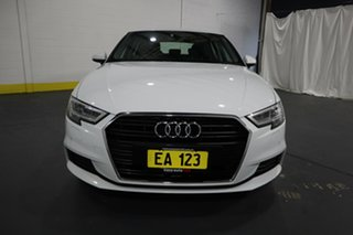 2018 Audi A3 8V MY18 Sportback S Tronic White 7 Speed Sports Automatic Dual Clutch Hatchback