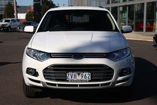 2013 Ford Territory SZ TS Seq Sport Shift Winter White 6 Speed Sports Automatic Wagon.