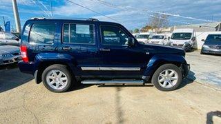 2012 Jeep Cherokee KK MY12 Limited Blue 4 Speed Automatic Wagon.