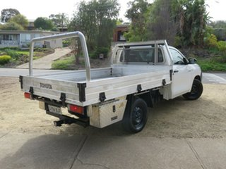 2015 Toyota Hilux GUN123R SR 4x2 White 5 Speed Manual Cab Chassis