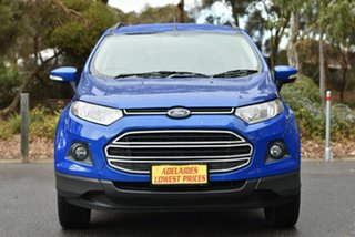 2015 Ford Ecosport BK Trend PwrShift Blue 6 Speed Sports Automatic Dual Clutch Wagon.