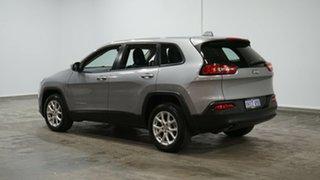 2014 Jeep Cherokee KL Sport Silver 9 Speed Sports Automatic Wagon.