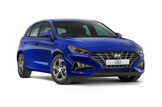 2021 Hyundai i30 PD.V4 MY21 Special Edition Intense Blue 6 Speed Sports Automatic Hatchback